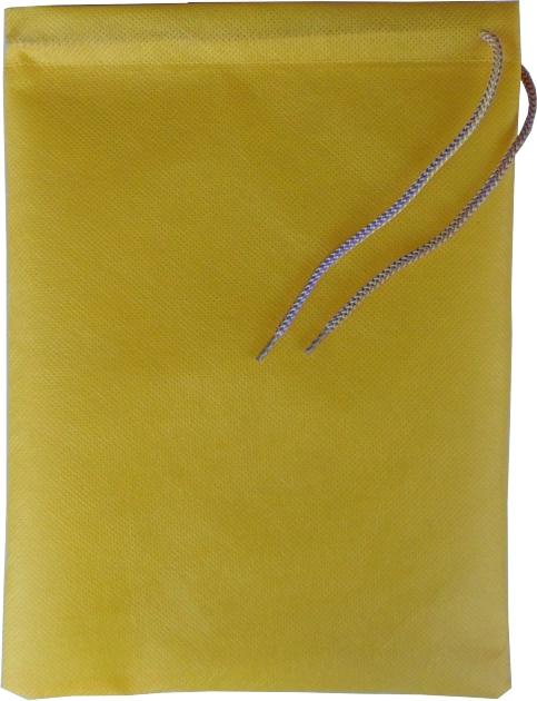0128 Vrečka za copate rumena
