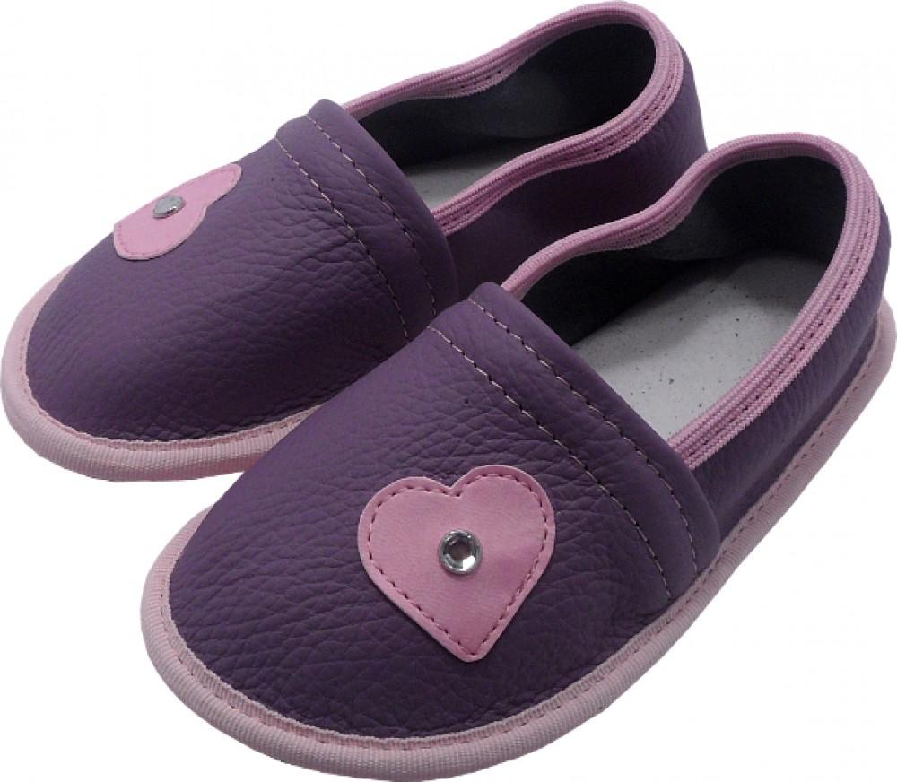 0223 Otroški copati srce biser