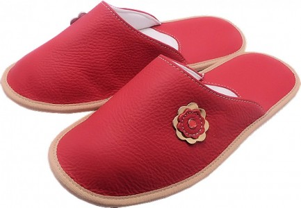 55100 Copati ženski rdeči